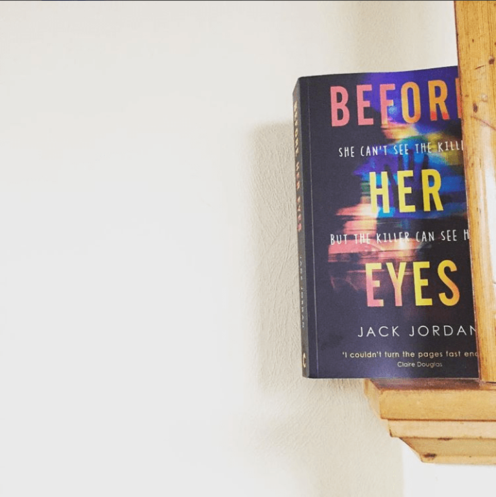 AN INVITING COVER. BEFORE HER EYESREVIEW.