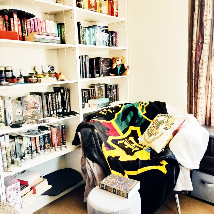 How I organise mybookshelves