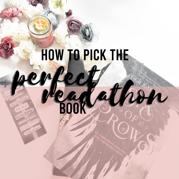 3 tips to pick the perfect 24-hour readathonbook!